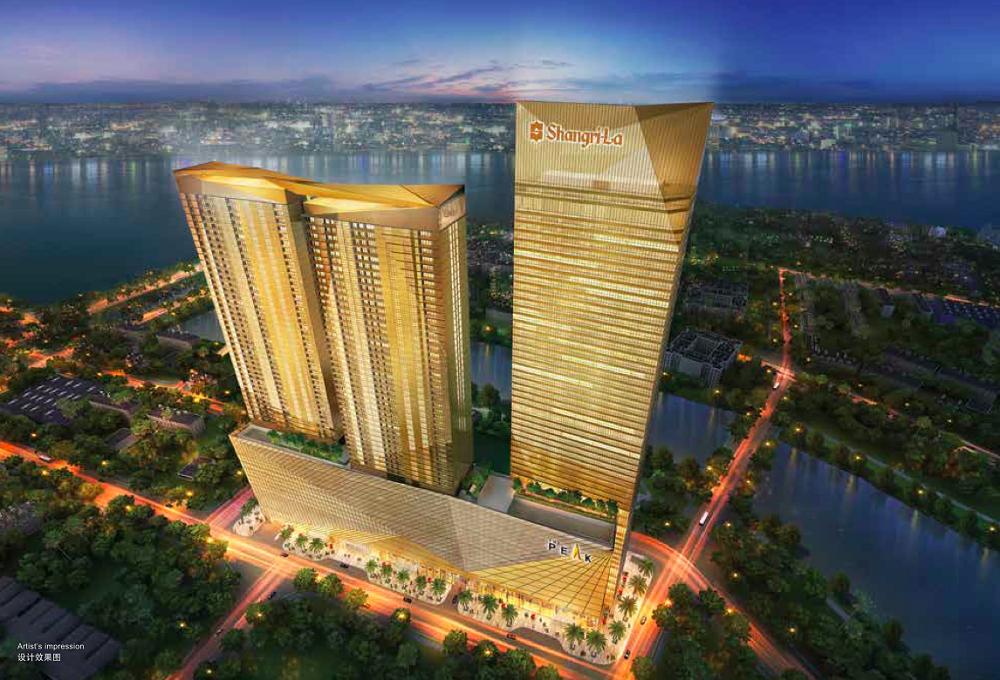 カンボジアのホテル ザ・ピーク